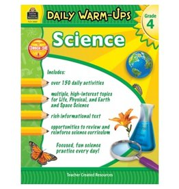 Daily Warm-Ups: Science (Gr. 4)
