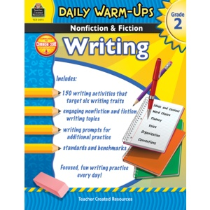Daily Warm-Ups: Nonfiction & Fiction Writing (Gr  2)