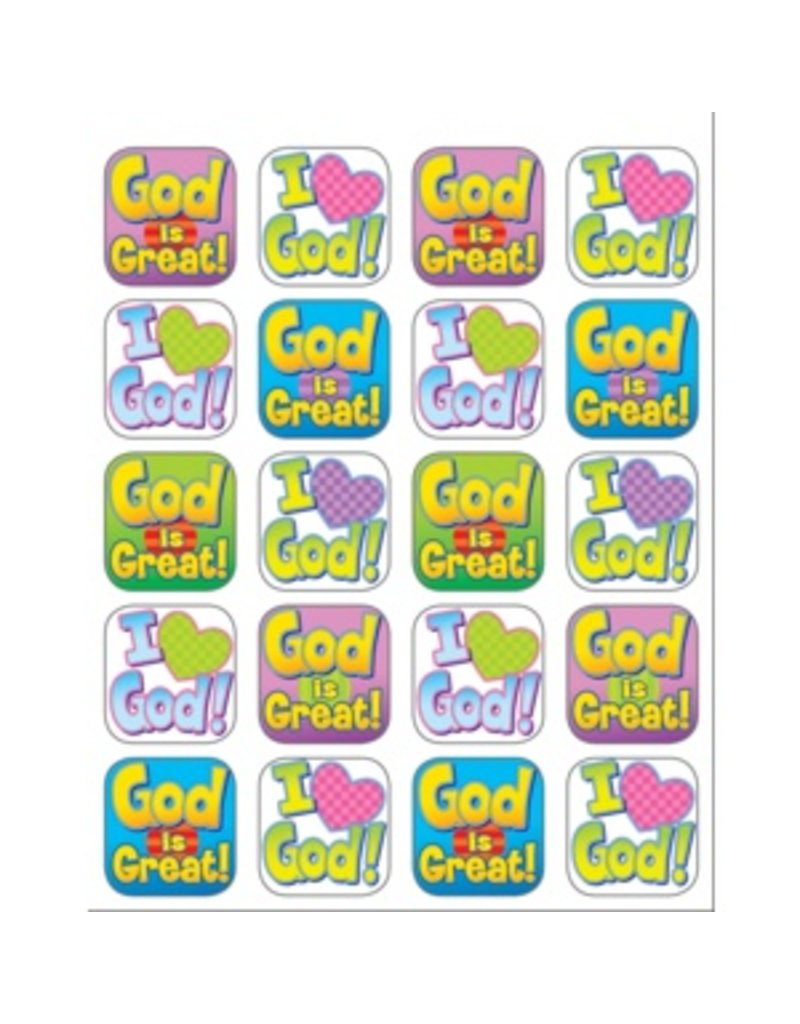 God is Great Stickers