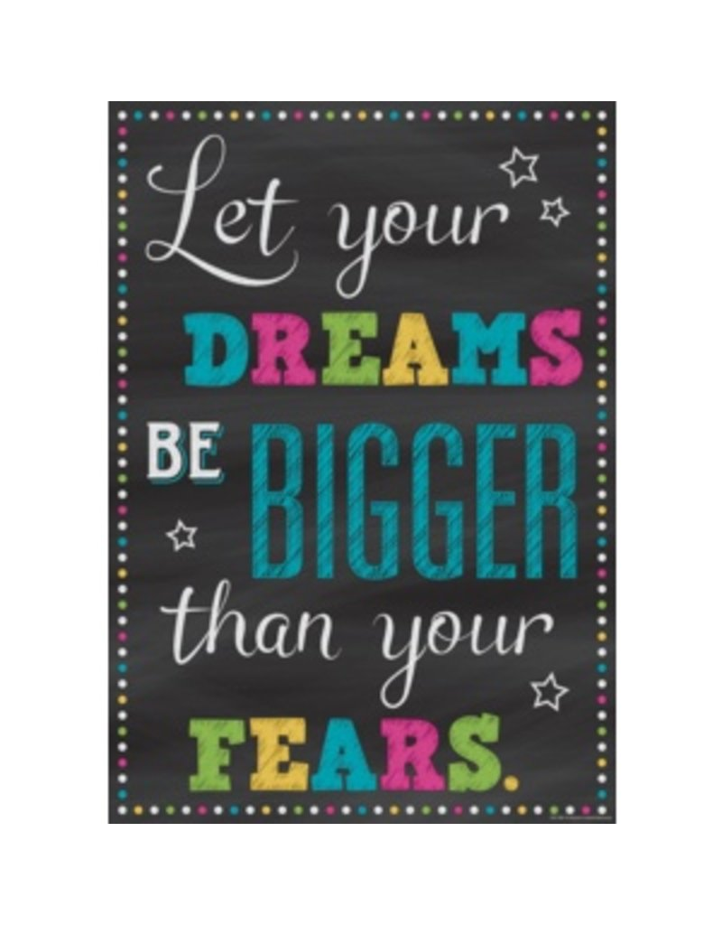 Let Your Dreams be Bigger Than Your Tears-poster