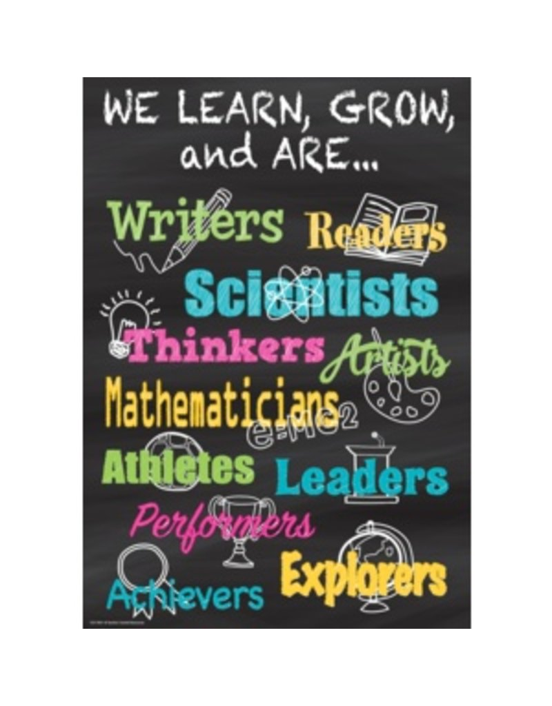 We Learn, Grow, and Are...-poster