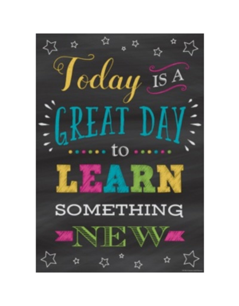 Today is a Great Day to Learn-Poster