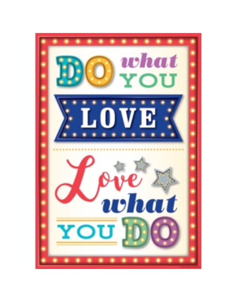 Do What YOu Love-Poster