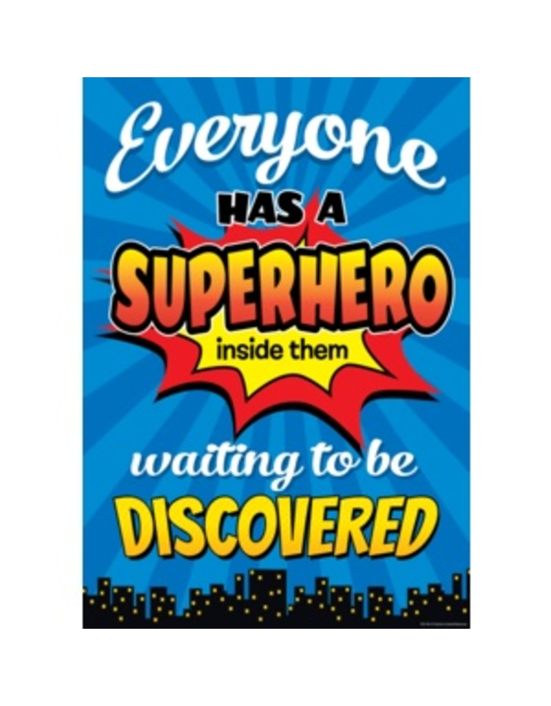 Everyone has a Superhero-Poster