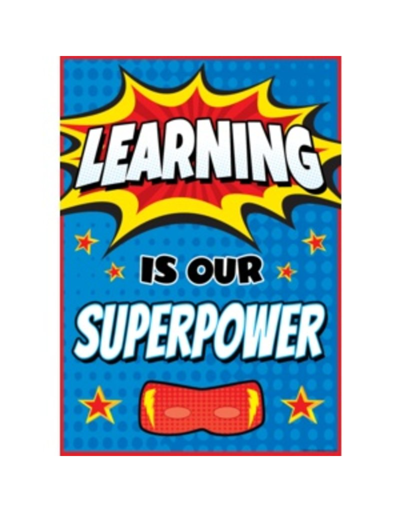 Learning is our Super Hero-poster