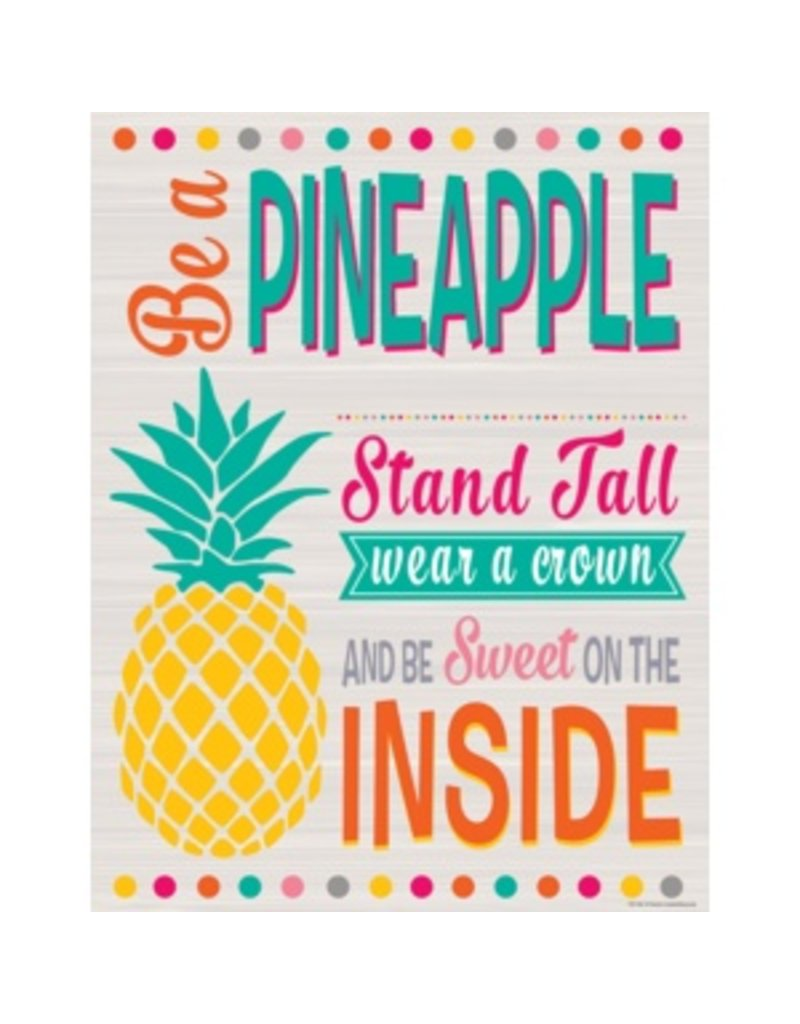 Tropical Punch Be a Pineapple Chart