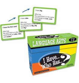 I Have… Who Has…? Language Arts Game (Gr. 1-2)