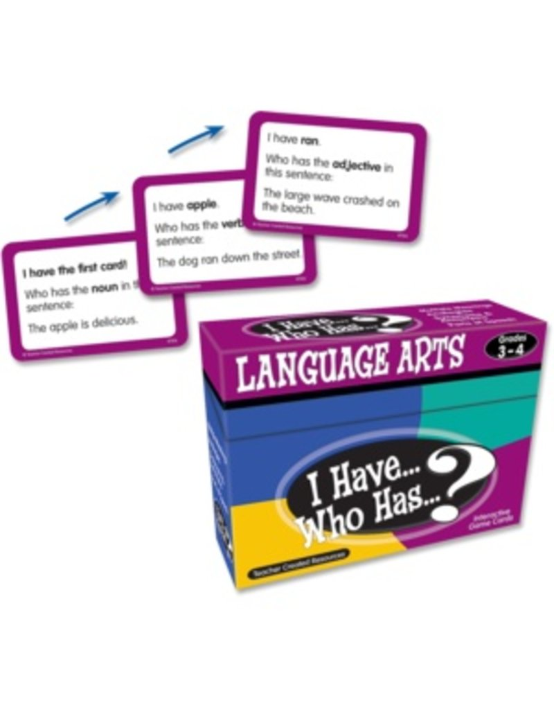 I Have… Who Has…? Language Arts Game (Gr. 3-4)