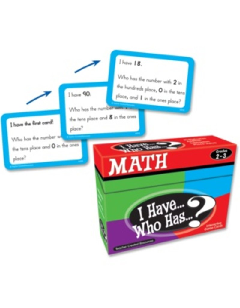I Have… Who Has…? Math Game (Gr. 2-3)
