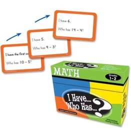 I Have… Who  Has…? Math Game (Gr. 1-2)