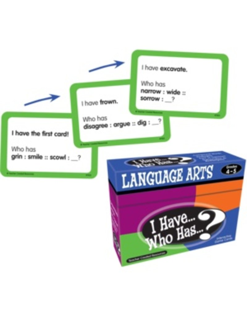 I Have… Who Has…? Language Arts Game (Gr. 4-5)