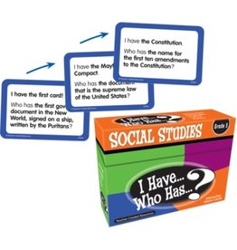 *I Have… Who Has…? Social Studies Game (Gr. 5)