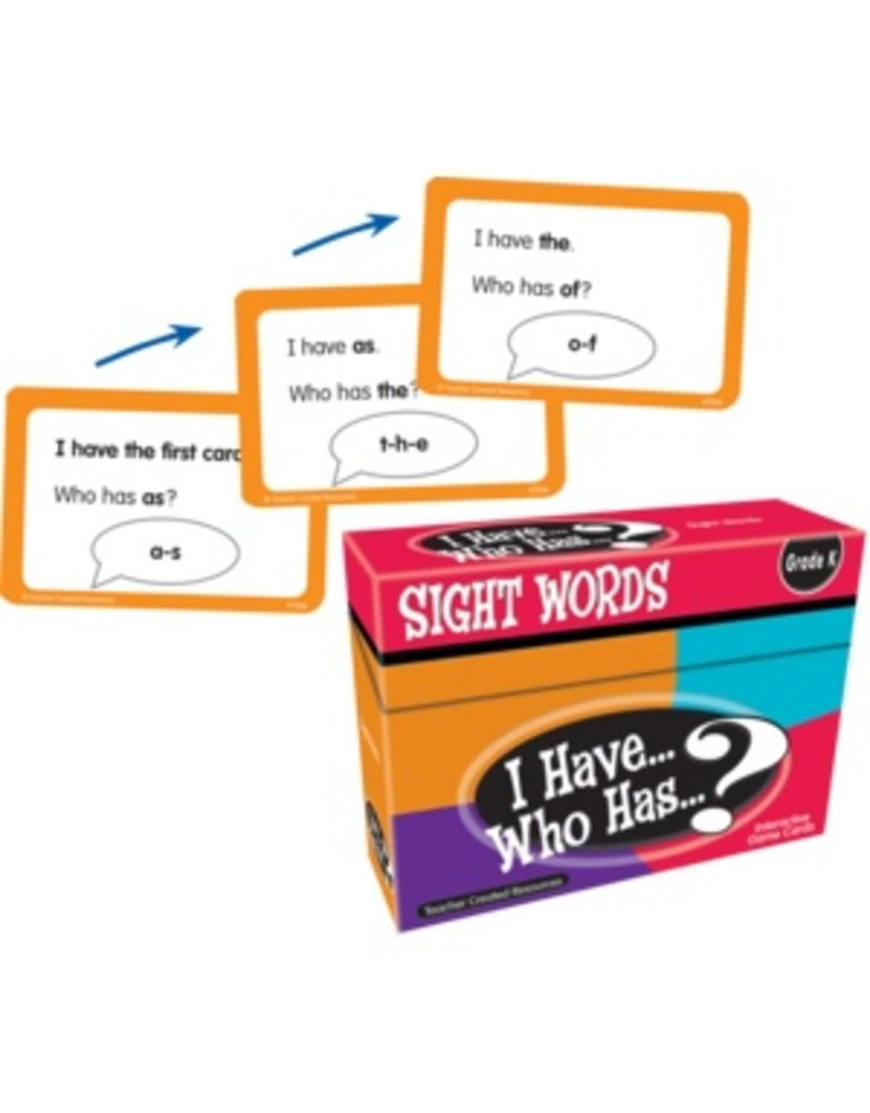 I Have… Who Has…? Sight Words Game (Gr. K)