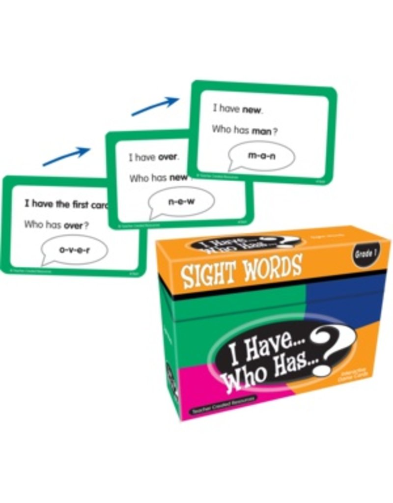 I Have… Who Has…? Sight Words Game (Gr. 1)
