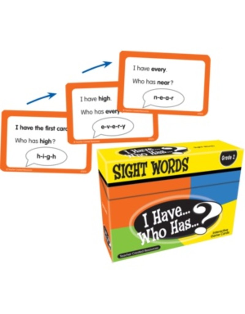 I Have… Who Has…? Sight Words Game (Gr. 2)