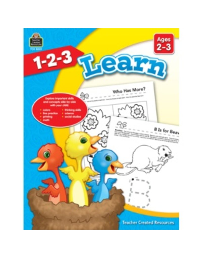 1-2-3 Learn (Ages 2-3)