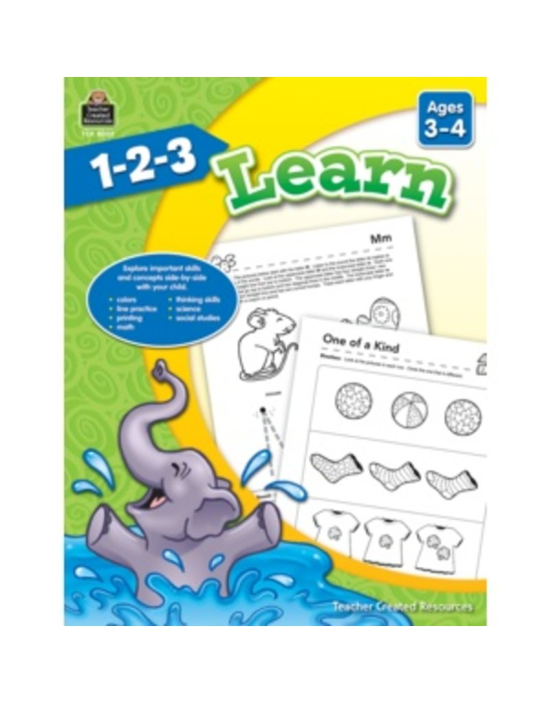 1-2-3 Learn (Ages 3-4)