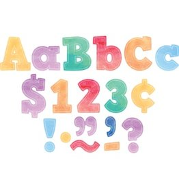 """Watercolor Bold Block 4"""" Letters Combo Pack"""