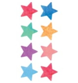 Watercolor Stars Mini Stickers