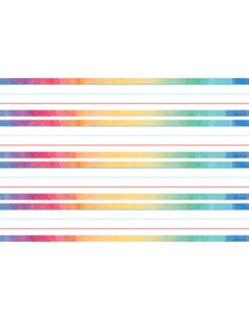 Watercolor Sentence Strips