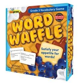 Word Waffle Game Grade 3
