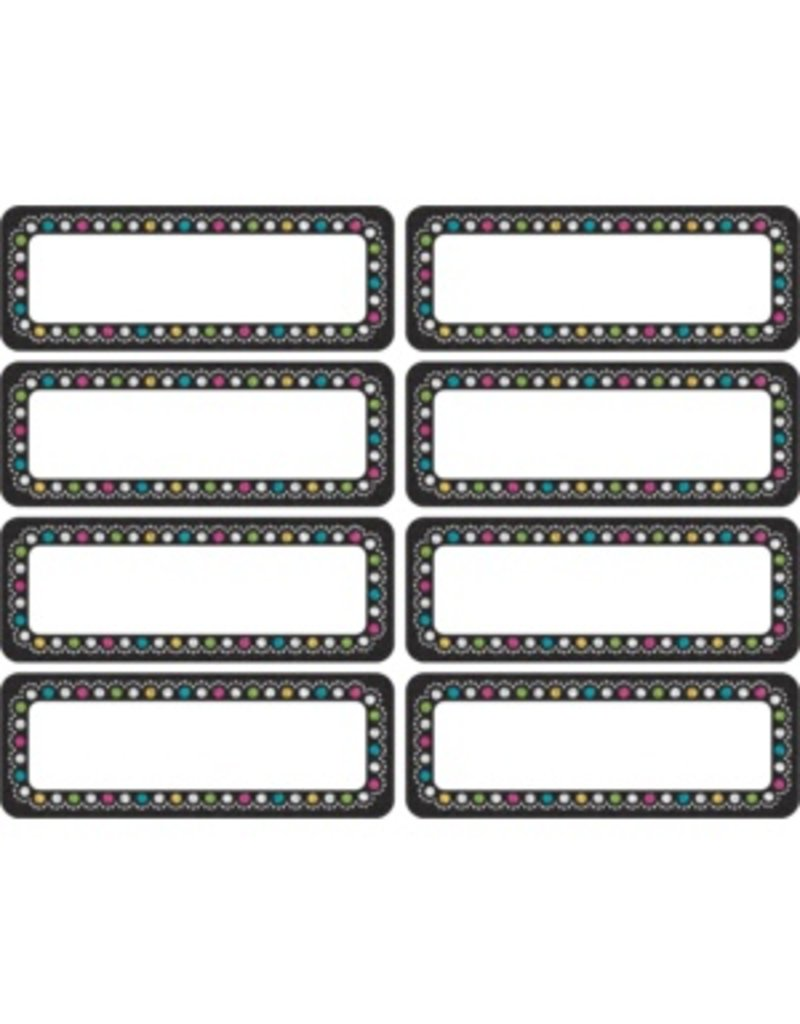 Clingy Thingies Chalkboard Brights Mini Labels