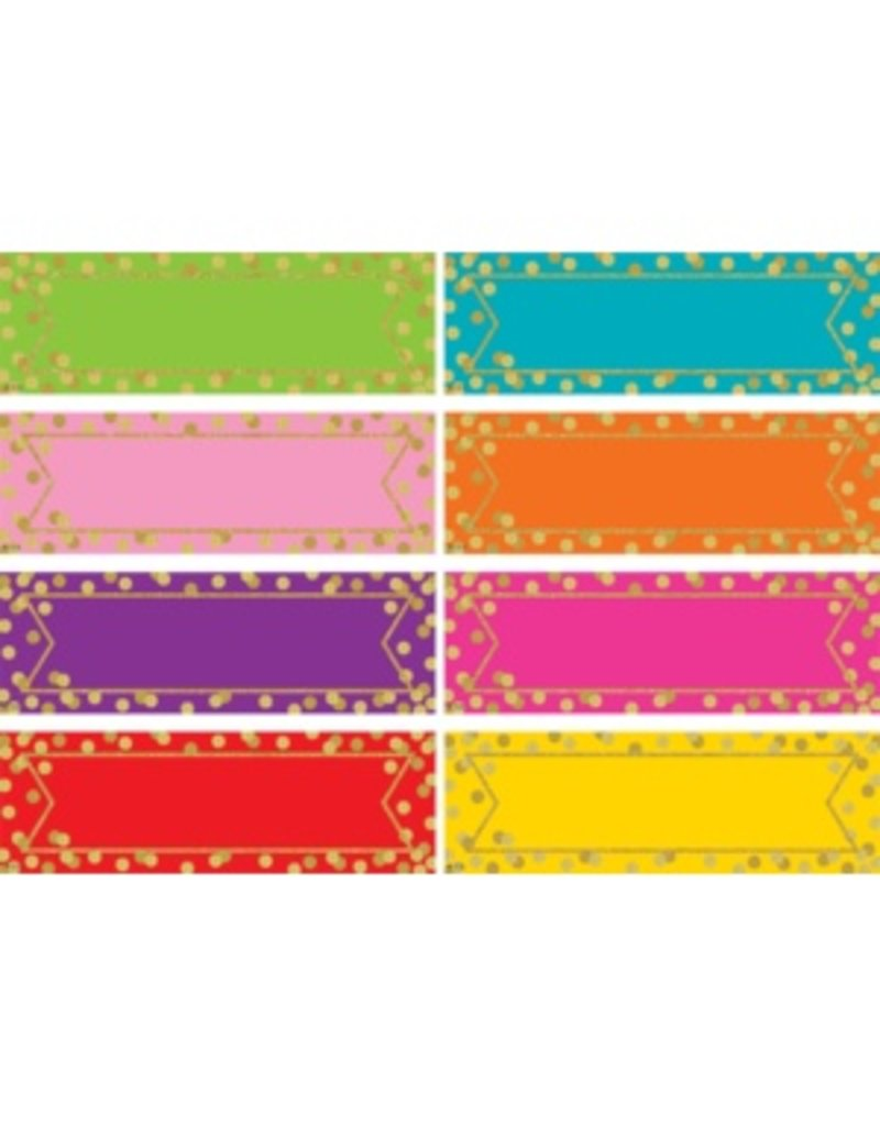 Confetti Labels Magnetic Decor