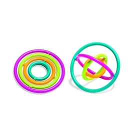 Round Gyrobi Fidget Toy, assorted