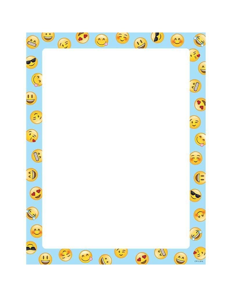 Emoji Fun Computer Paper