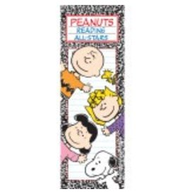 Peanuts Reading Bookmarks