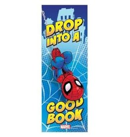 Spiderman Drop Into A Good Book Bookmark