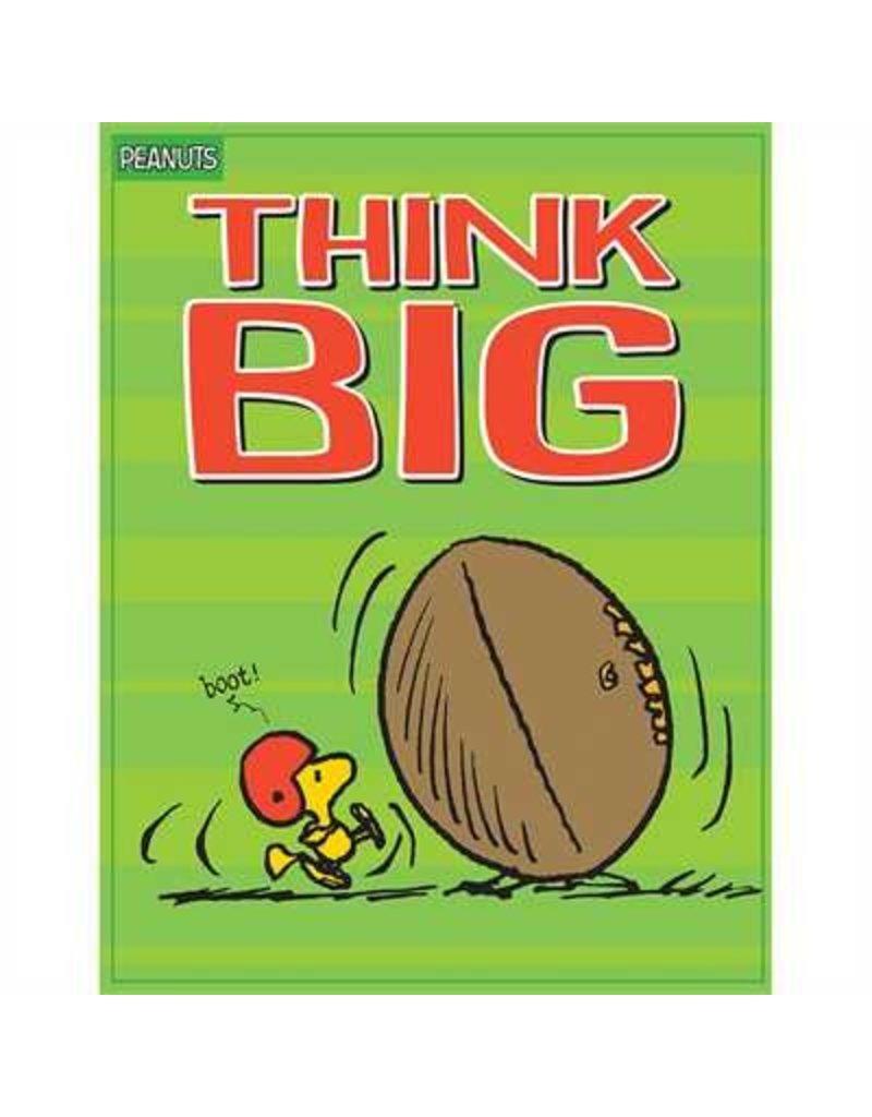 Peanuts Think Big Poster