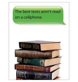 """Text"" Books Poster"