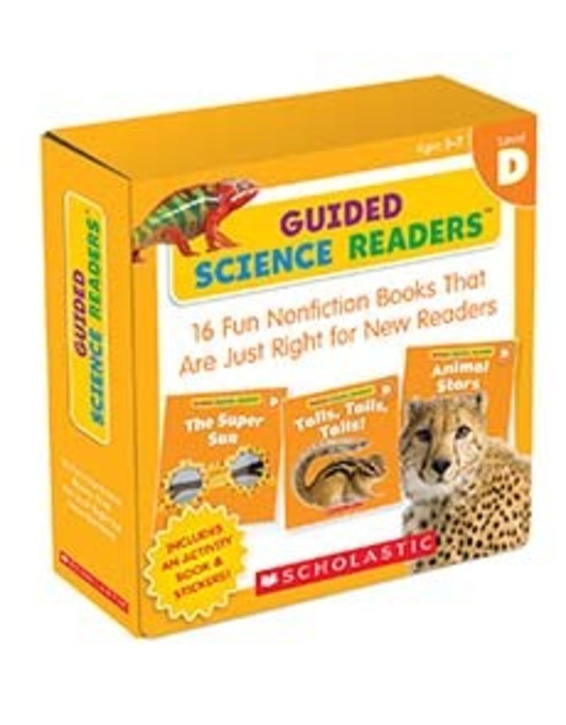 Guided Science Readers Parent Pack: Level D