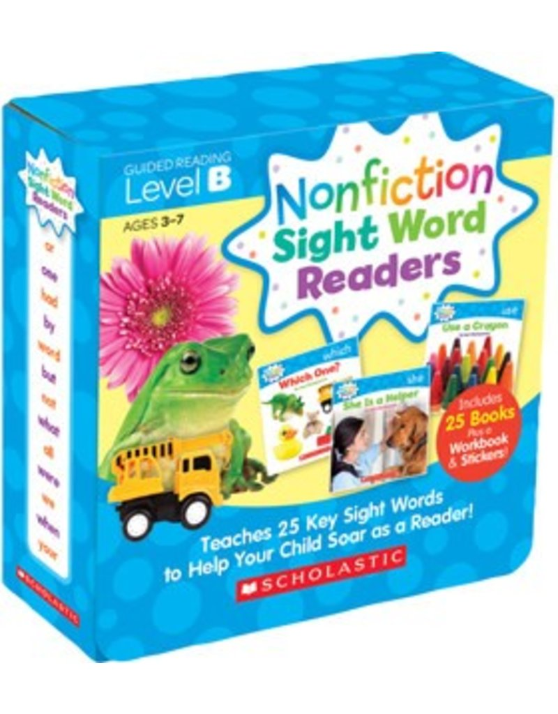 Nonficion Sight Word Readers Parent Pack: Level B