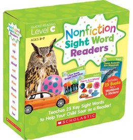 Nonfiction Sight Word Readers Parent Pack: Level C