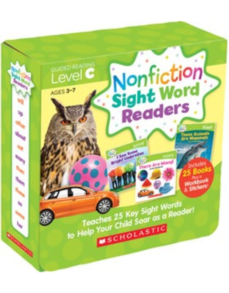 Nonfiction Sight Word Readers Parent Pack: Level C