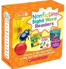 Nonfiction Sight Word Readers Parent Pack: Level D