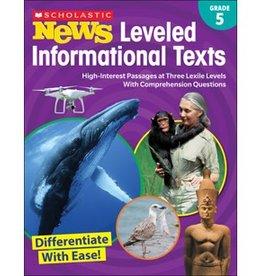 News Leveled Informational Text Gr. 5 Book