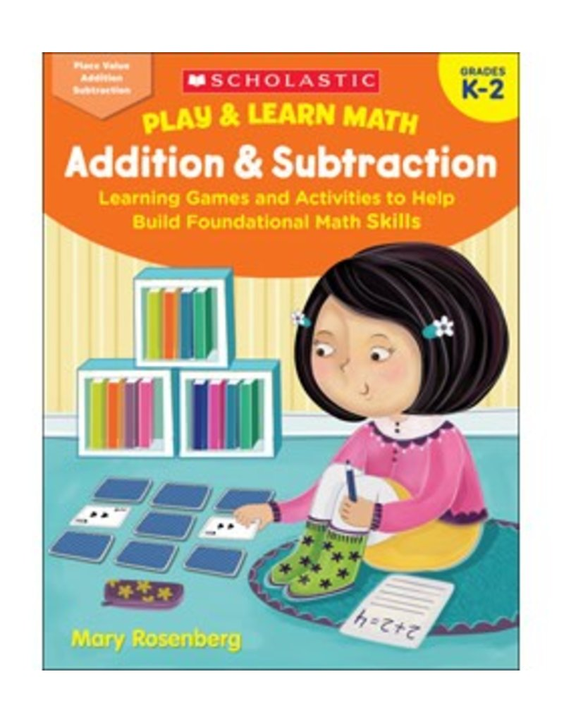Play and Learn Math Addition and Subtraction Book