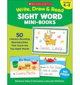 Write, Draw and Read Sight Word Mini Books