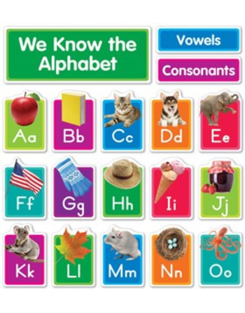 Our Photo Alphabet Bulletin Board Set