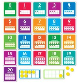 0-20 Numbers Bulletin Board Set