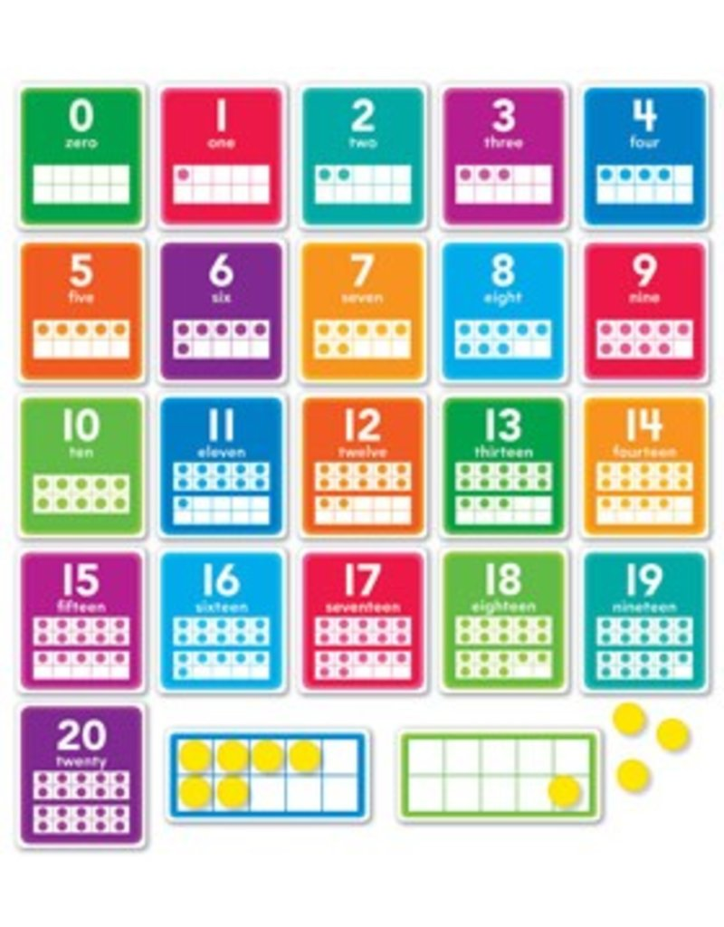 0-20 Numbers Bulletin Board Set