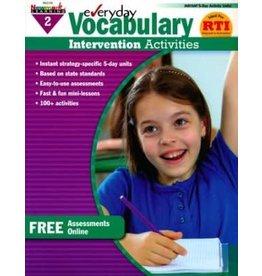 *Everyday Vocabulary Intervention Activities (Grade 2)