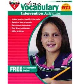 *Everyday Vocabulary Intervention Activities (Grade 4)