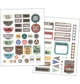 Home Sweet Home Classroom Planner Stickers