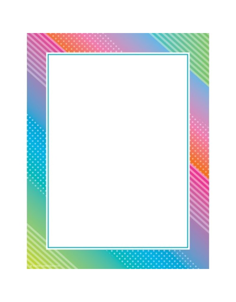 Colorful Vibes computer paper