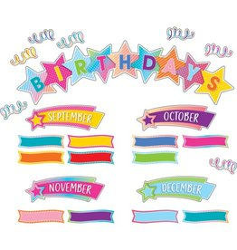 Colorful Vibes Birthday Mini Bulletin Board