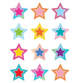 Colorful Vibes Stars Mini Accents